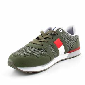 TOMMY HILFIGER T3B4-30345 MILITARY SNEAKERSY *DP*