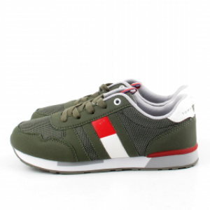 6602619081a66 TOMMY HILFIGER T3B4-30345 MILITARY SNEAKERSY *DP*. cena brutto